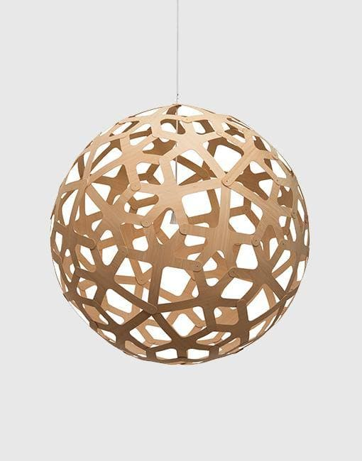 "Coral Ceiling Pendant | By David Trubridge Ceiling Pendant David Trubridge 1000mm (39"") +£490 Natural"