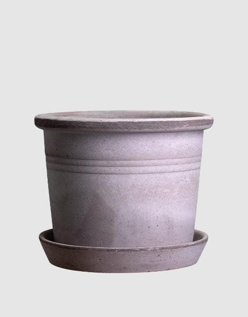 35cm Grey Galestro Clay Plant Pot | By Bergs Potters