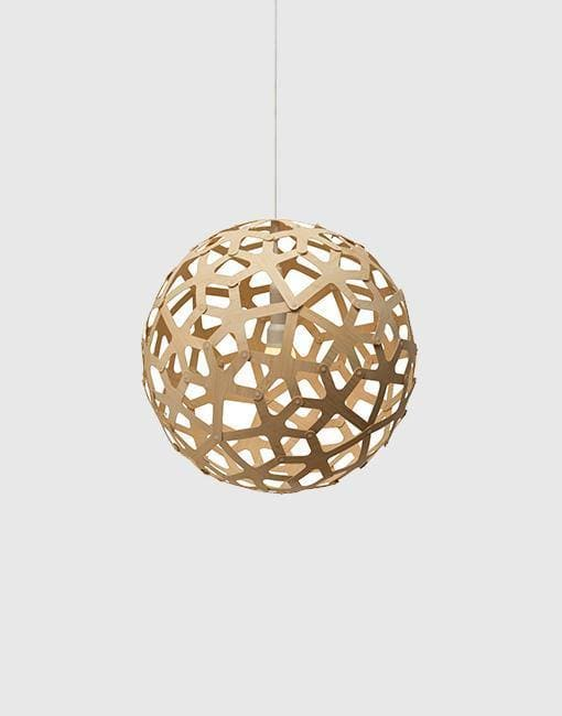 "Coral Ceiling Pendant | By David Trubridge Ceiling Pendant David Trubridge 400mm (16"") Natural"