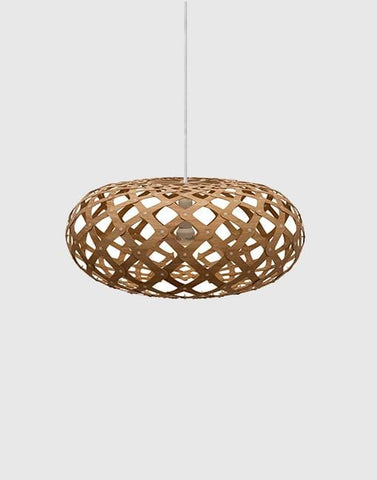 Kina Ceiling Pendant | By David Trubridge Ceiling Pendant David Trubridge ø440mm Caramel