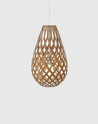 Koura Ceiling Pendant | By David Trubridge Ceiling Pendant David Trubridge ø500mm Caramel