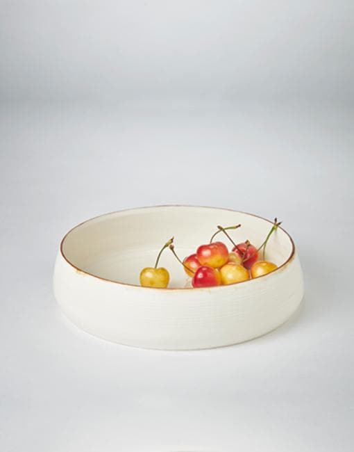 Small Flat Shallow Bowl 21.5 cm x 5.5cm | By Kirsty Adams Tableware Kirsty Adams