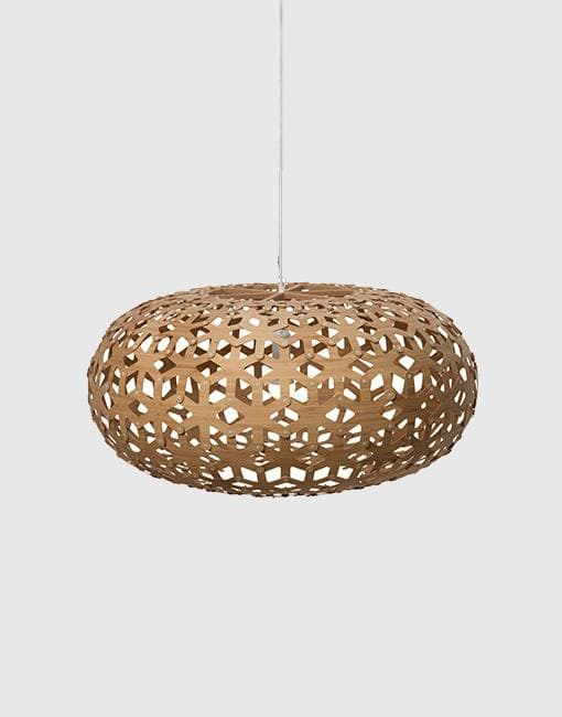 Snowflake Ceiling Pendant | By David Trubridge Ceiling Pendant David Trubridge Small Caramel