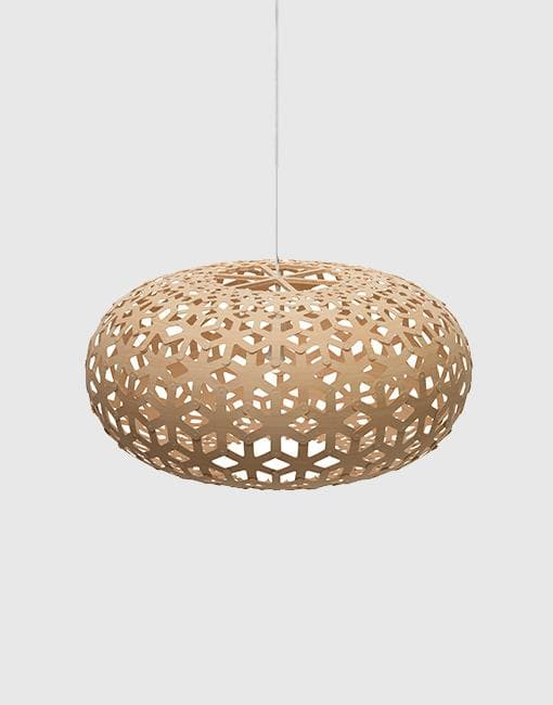 Snowflake Ceiling Pendant | By David Trubridge Ceiling Pendant David Trubridge Small Natural