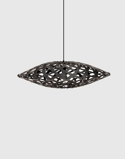 Flax Ceiling Pendant | By David Trubridge Ceiling Pendant David Trubridge Black