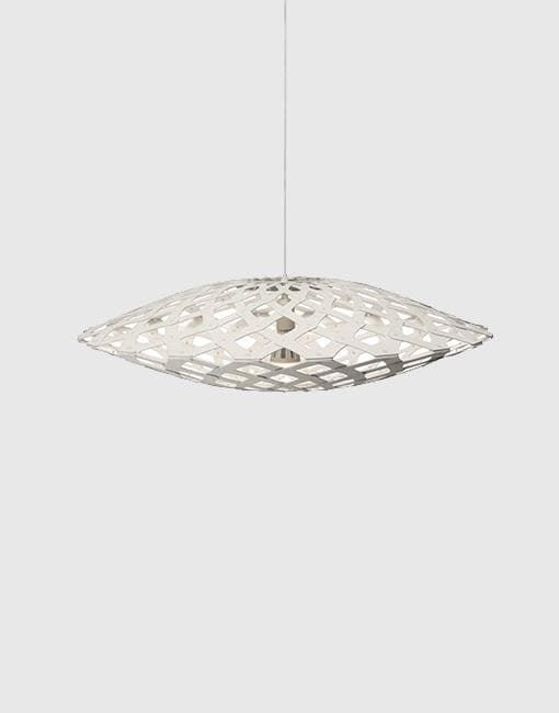 Flax Ceiling Pendant | By David Trubridge Ceiling Pendant David Trubridge White