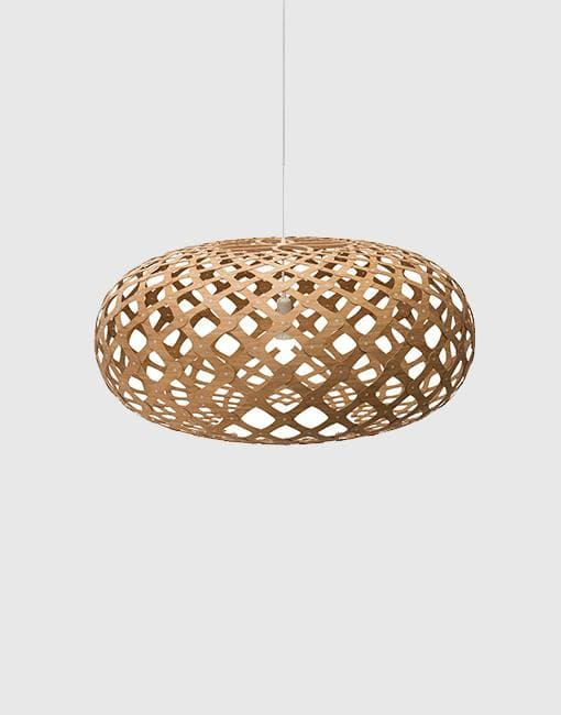 Kina Ceiling Pendant | By David Trubridge Ceiling Pendant David Trubridge ø800mm +£415 Caramel