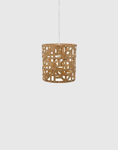 Ulu Ceiling Pendant | By David Trubridge Ceiling Pendant David Trubridge Half Caramel