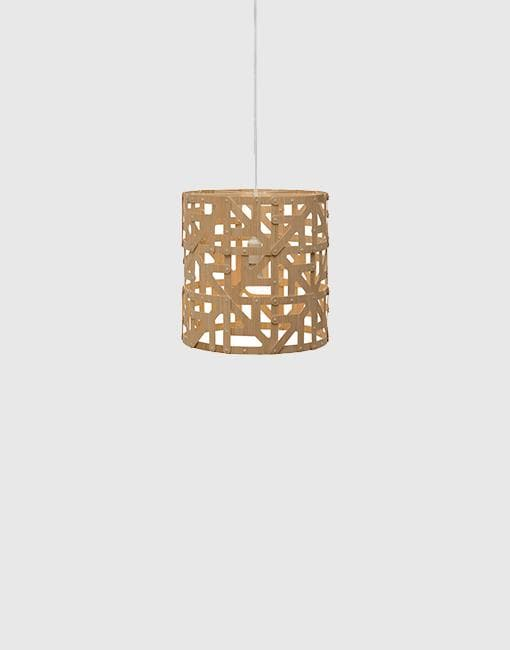 Ulu Ceiling Pendant | By David Trubridge Ceiling Pendant David Trubridge Half Natural