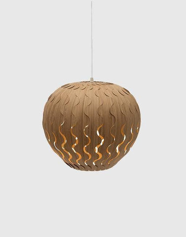 Belle Ceiling Pendant | By David Trubridge Ceiling Pendant David Trubridge Small Caramel