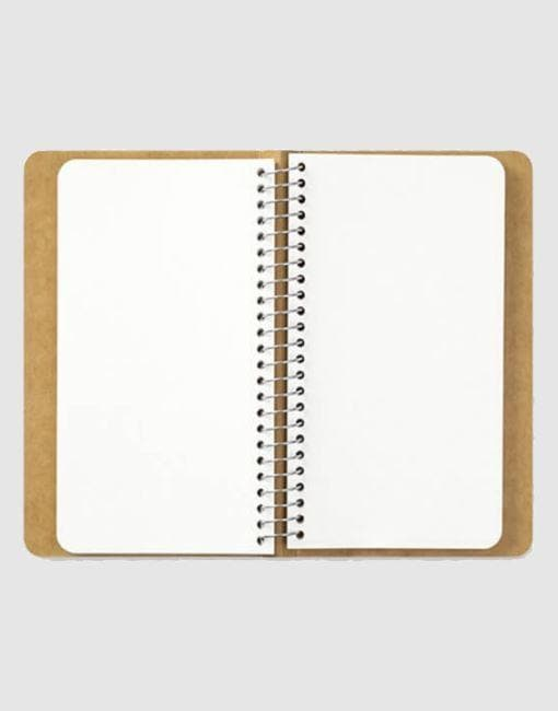 Spiral Ring Notebook A6 Slim | By Traveler's Company Stationery Notable Design