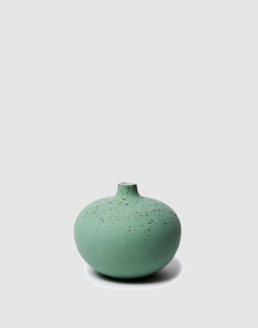 Medium Bari Green Freckles Matte Vase | By Lindform Plant Pots & Vases Lindform Default Title