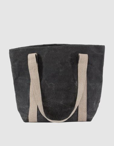 Black Iki Handbag By Uashmama