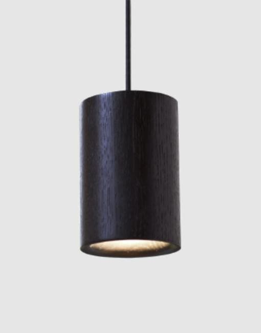 Solid Ceiling Pendant | By Terence Woodgate Ceiling Pendant Terence Woodgate Stained Black Oak