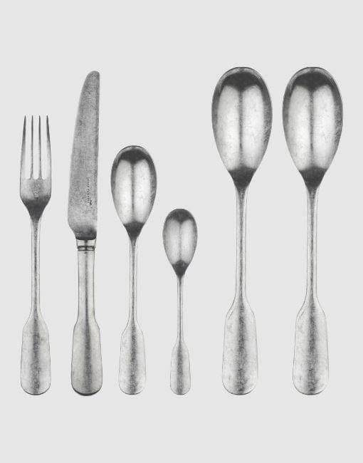 Fiddle Vintage Satin Cutlery Set | By Charingworth Cutlery Charingworth 42 Piece Set +£160