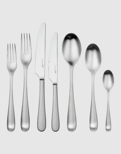 Mogano Satin Cutlery Set | By Charingworth Cutlery Charingworth 42 Piece Set +£140