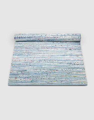 Cotton Blue Mix Rug | By Rug Solid Rugs Rug Solid