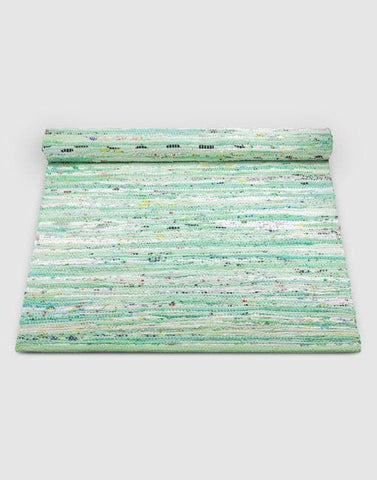 Cotton Green Mix Rug | By Rug Solid Rugs Rug Solid
