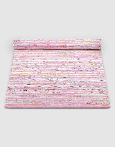 Cotton Pink Mix Rug | By Rug Solid Rugs Rug Solid