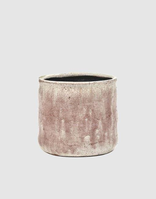 Flame Plant Pot | By Serax Plant Pots & Vases Serax Rustic Pink