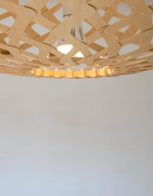 Flax Ceiling Pendant | By David Trubridge Ceiling Pendant David Trubridge