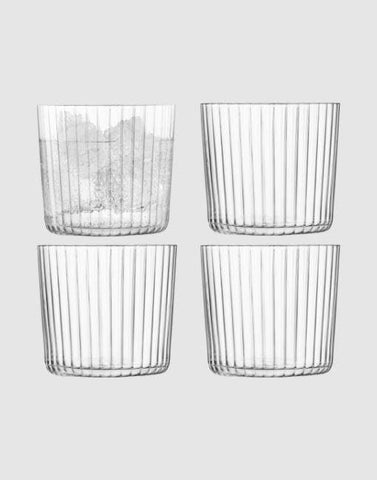 GIO Cocktail Tumbler x4 310ml | By LSA Glassware LSA