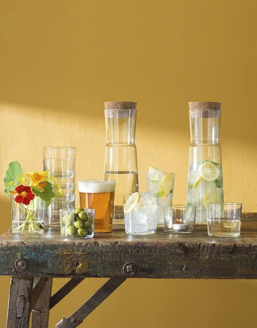 GIO Juice Glass 320ml x4 | By LSA Glassware LSA