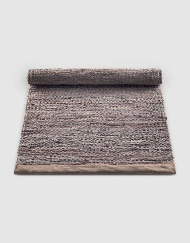 Leather Rug | By Rug Solid Rugs Rug Solid Wood 75cm x 200cm