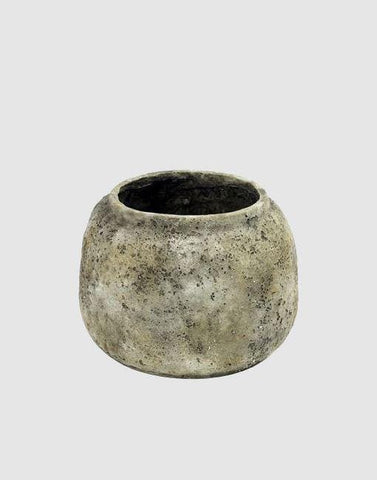 Cement Low Plant Pot | By Serax Plant Pots & Vases Serax