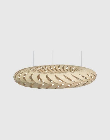 Maru Ceiling Pendant | By David Trubridge Ceiling Pendant David Trubridge Small Natural