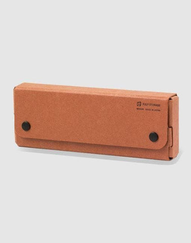 Pasco Pulp Pen Case | By Midori Stationery Notable Design Terracotta