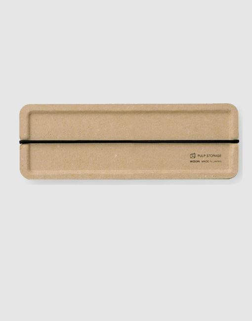 Pulp Pencil Case | By Midori Stationery Notable Design Beige