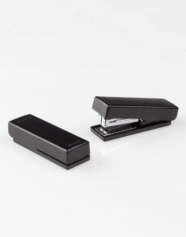 Black XS Stapler | By Midori Stationery Notable Design