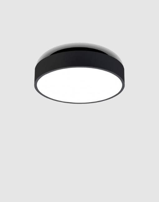 Moon Ceiling/Wall Light | By AntiDark Wall & Ceiling Lights AntiDark Black 260mm +£20 2700k