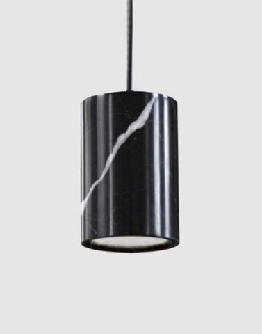Solid Ceiling Pendant | By Terence Woodgate Ceiling Pendant Terence Woodgate Nero Marquina Marble