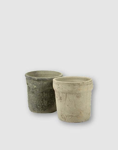 Cylinder Boord Mossed Plant Pot | By Serax Plant Pots & Vases Serax