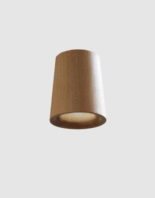 Solid Cone Downlight | By Terence Woodgate Wall & Ceiling Lights Terence Woodgate Natural Oak