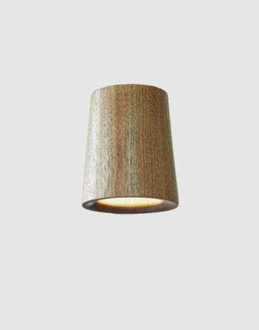 Solid Cone Downlight | By Terence Woodgate Wall & Ceiling Lights Terence Woodgate Walnut