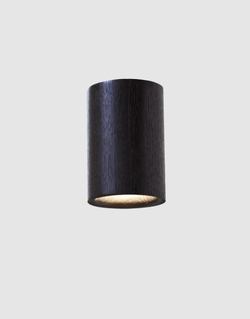 Solid Downlights | By Terence Woodgate Wall & Ceiling Lights Terence Woodgate Black Stained Oak