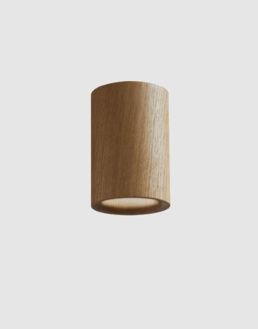 Solid Downlights | By Terence Woodgate Wall & Ceiling Lights Terence Woodgate Natural Oak