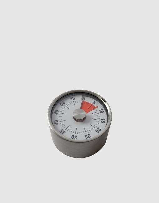 Stainless Steel Magnetic Cooking Timer | By de Buyer - uBaaHaus
