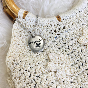 Esprit knit purse
