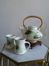 Handmade Pottery Tea Set