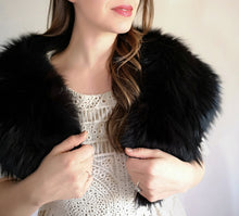 Mid Century Fur collar