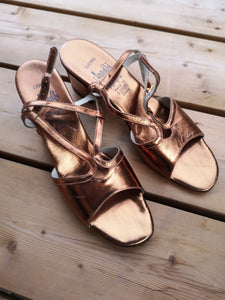 Vintage Gold Shoes