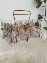 Drink Caddy with Glasses