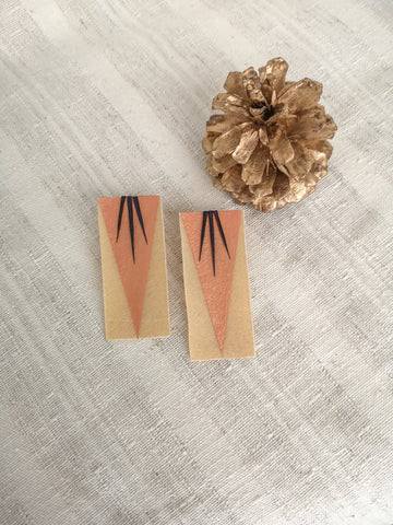Chixuwa Designs- Copper with Black Quills