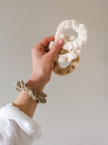 Crochet Scrunchie- Small