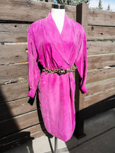 80s Silk Wrap Dress