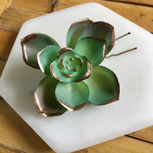 Large Succulent Hair Pin